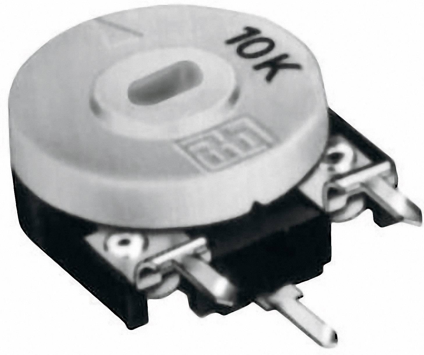 Uhlíkový trimer TT Electronics AB 21552405, lineárny, 10 kOhm, 0.15 W, 1 ks
