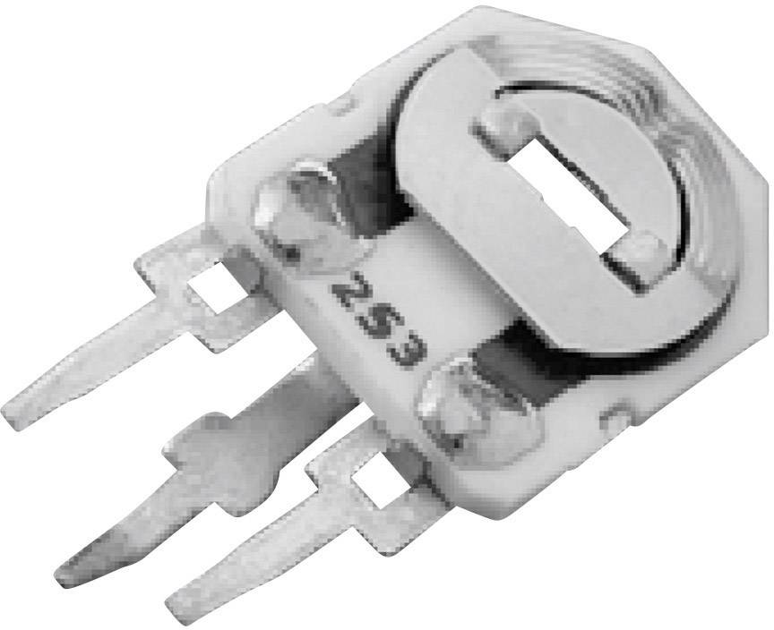 Cermetový trimer TT Electronics AB 2002112255, lineárny, 47 kOhm, 0.5 W, 1 ks