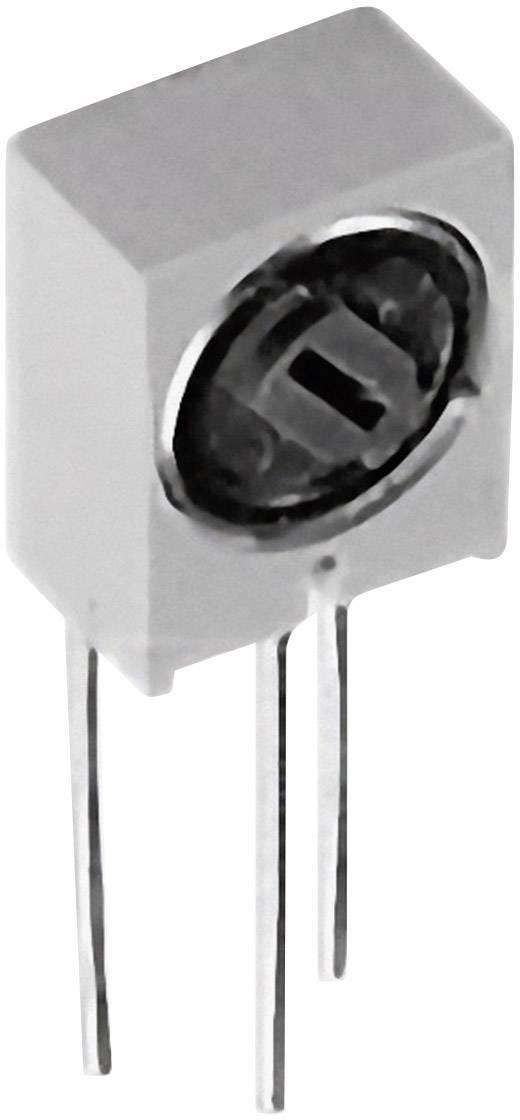Cermetový trimer TT Electronics AB 2046201400, lineárny, 500 Ohm, 0.5 W, 1 ks