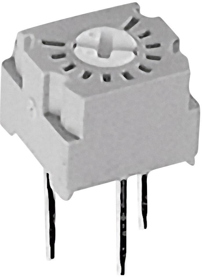 Cermetový trimer TT Electronics AB 2046400030, lineárny, 50 Ohm, 0.5 W, 1 ks