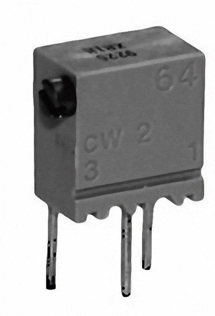 Cermetový trimer TT Electronics AB 2046701001, lineárny, 500 Ohm, 0.25 W, 1 ks