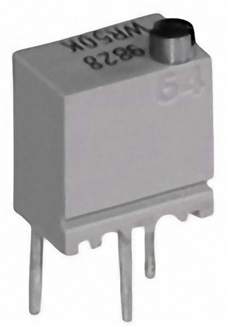 Cermetový trimer TT Electronics AB 2046904402, lineárny, 50 kOhm, 0.25 W, 1 ks