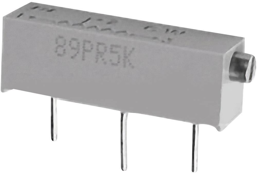 Cermetový trimer TT Electronics AB 2048125752, lineárny, 500 kOhm, 0.75 W, 1 ks