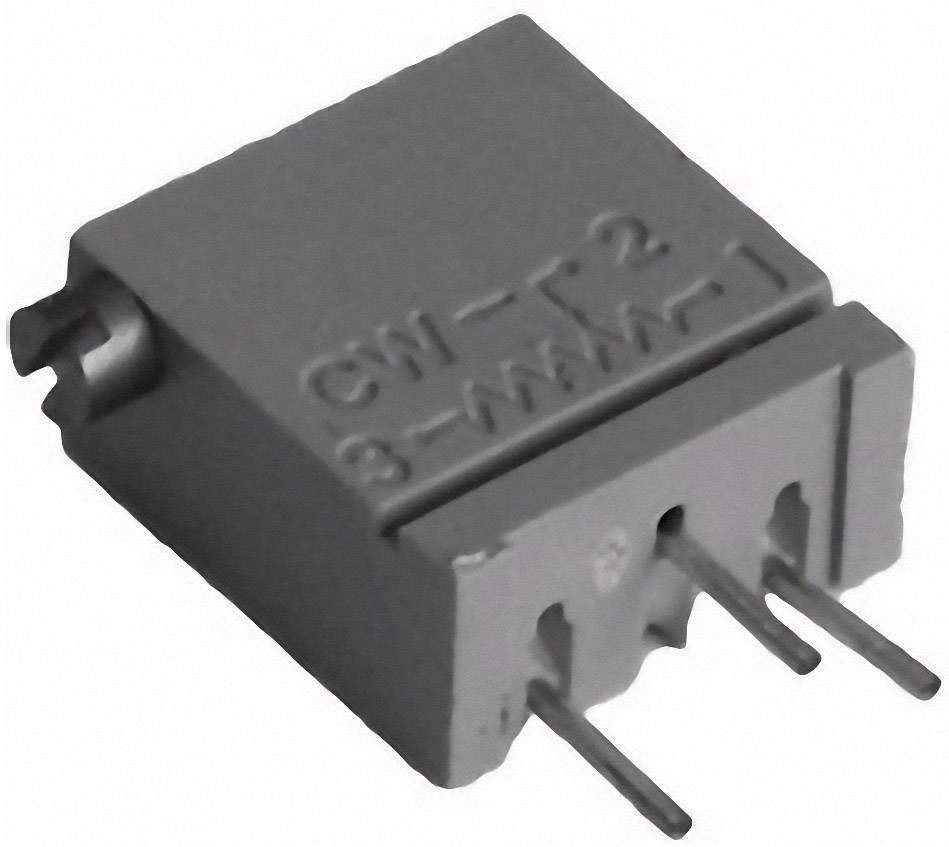 Cermetový trimer TT Electronics AB 2094110201, lineárny, 50 Ohm, 0.5 W, 1 ks