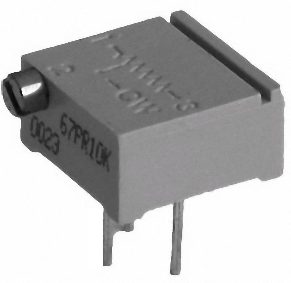 Cermetový trimer TT Electronics AB 2094211001, lineárny, 500 Ohm, 0.5 W, 1 ks