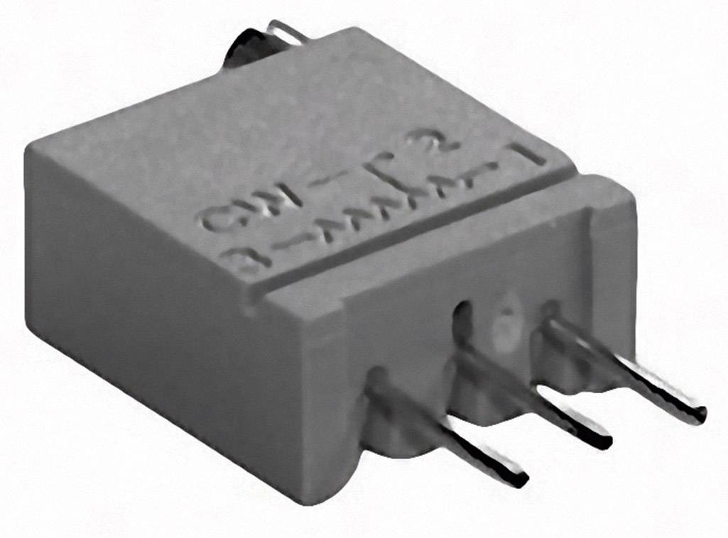 Cermetový trimer TT Electronics AB 2094313000, lineárny, 500 kOhm, 0.5 W, 1 ks
