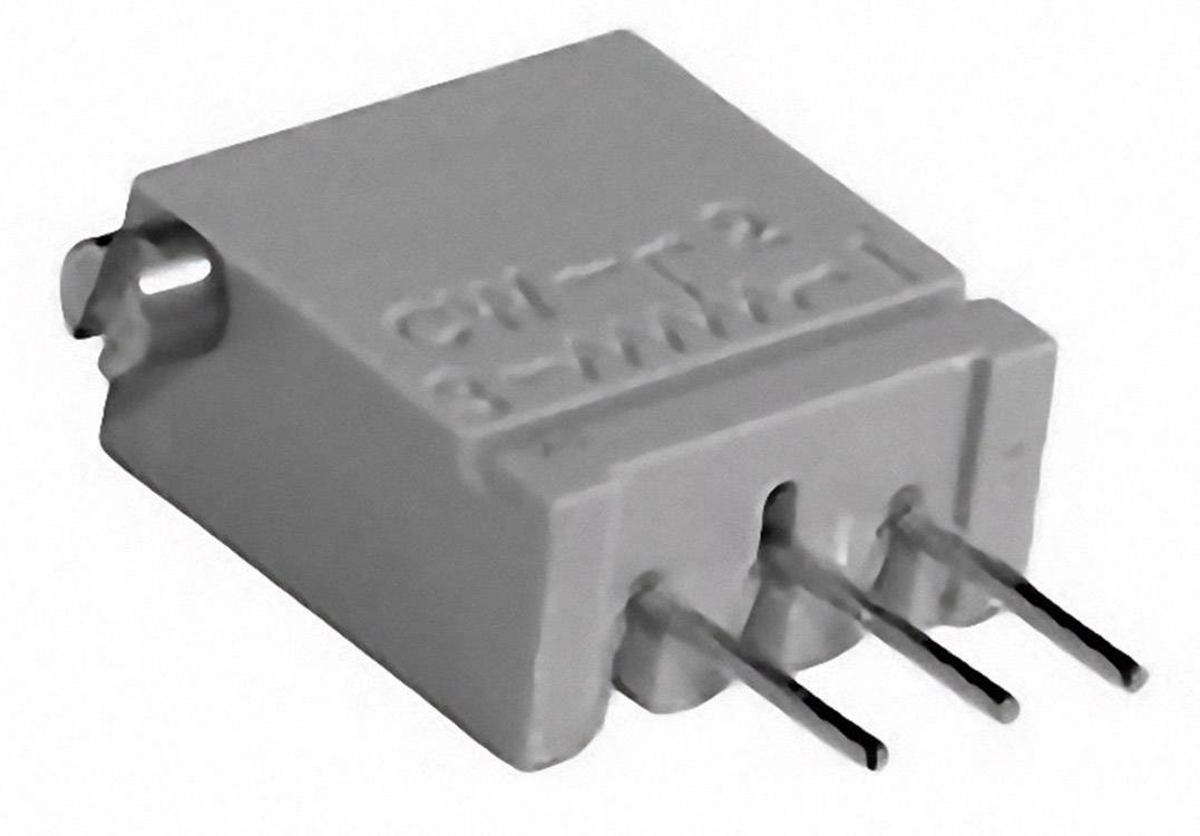 Cermetový trimer TT Electronics AB 2094413105, lineárny, 1 MOhm, 0.5 W, 1 ks