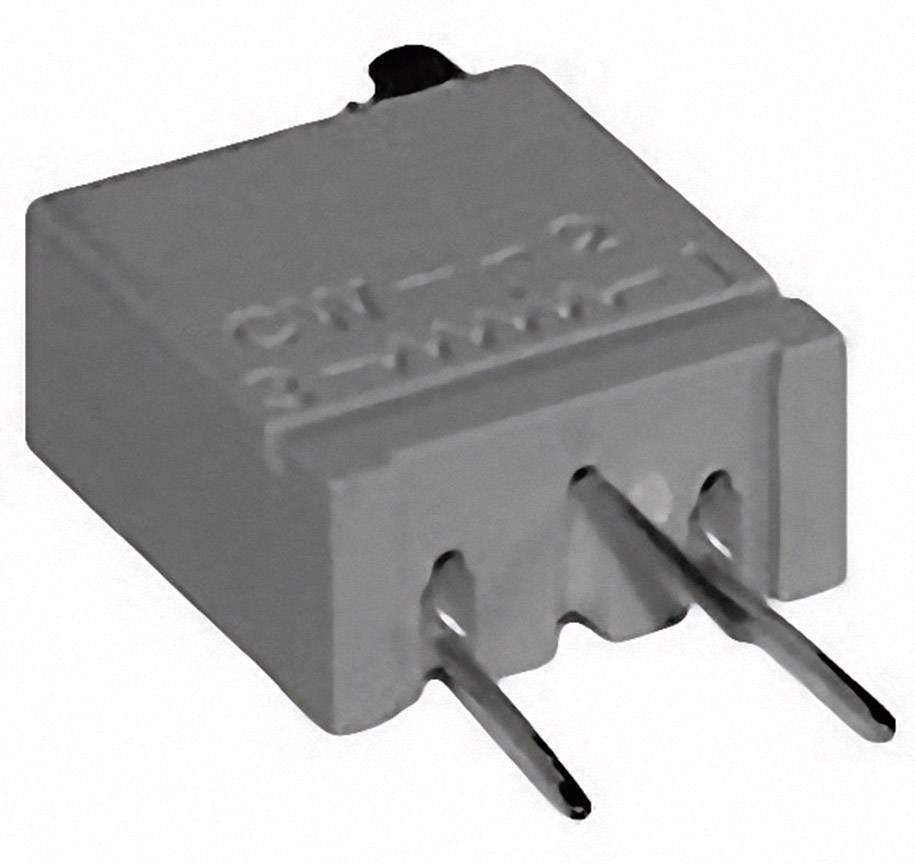 Cermetový trimer TT Electronics AB 2094510201, lineárny, 50 Ohm, 0.5 W, 1 ks