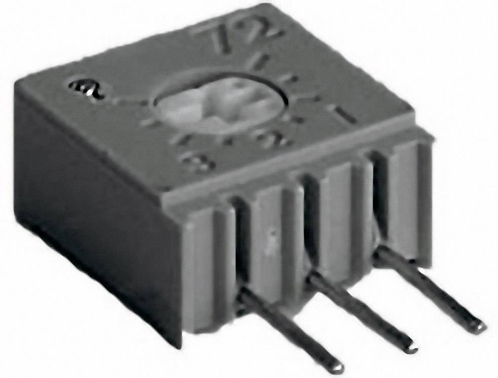 Cermetový trimer TT Electronics AB 2094611001, lineárny, 500 Ohm, 0.5 W, 1 ks