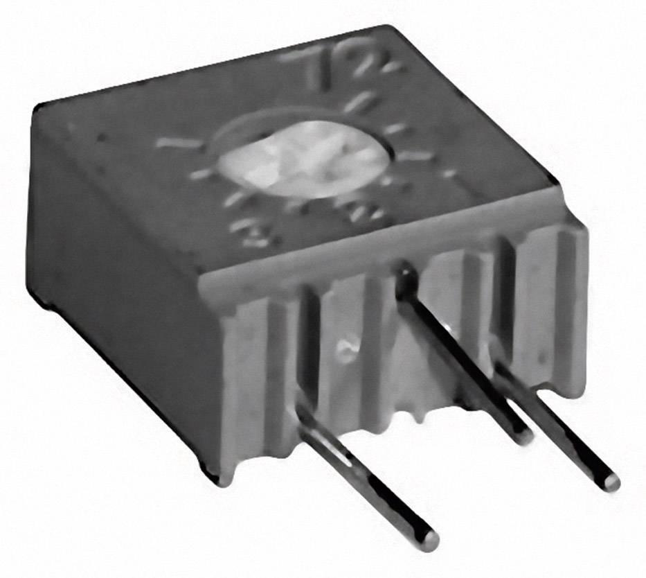 Cermetový trimer TT Electronics AB 2094810201, lineárny, 50 Ohm, 0.5 W, 1 ks