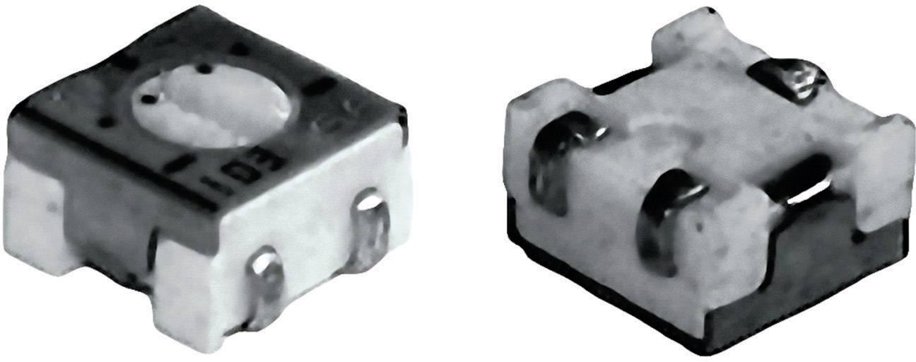 Cermetový trimer TT Electronics AB 2800585060, lineárny, 500 Ohm, 0.25 W, 1 ks