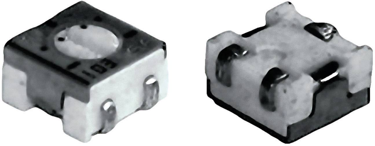 Cermetový trimer TT Electronics AB 2800586060, lineárny, 500 Ohm, 0.25 W, 1 ks