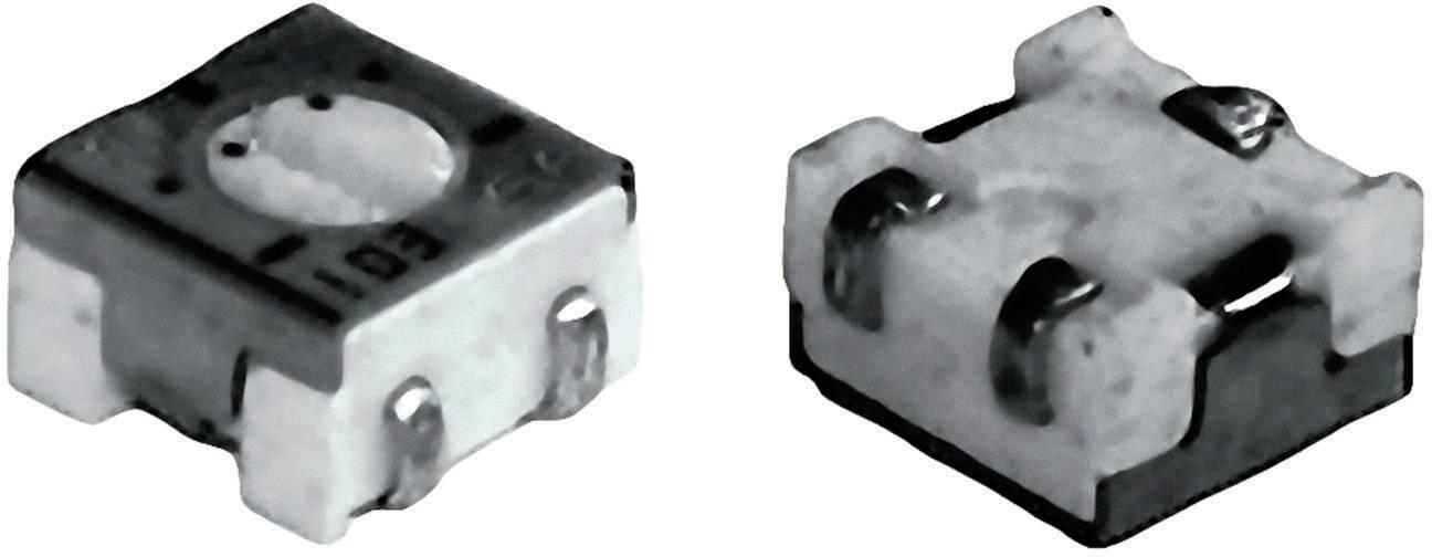 Cermetový trimer TT Electronics AB 2800586655, lineárny, 500 kOhm, 0.25 W, 1 ks