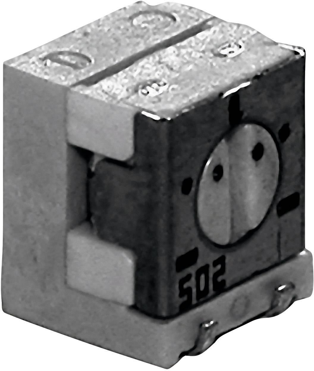 Cermetový trimer TT Electronics AB 2800587060, lineárny, 500 Ohm, 0.25 W, 1 ks