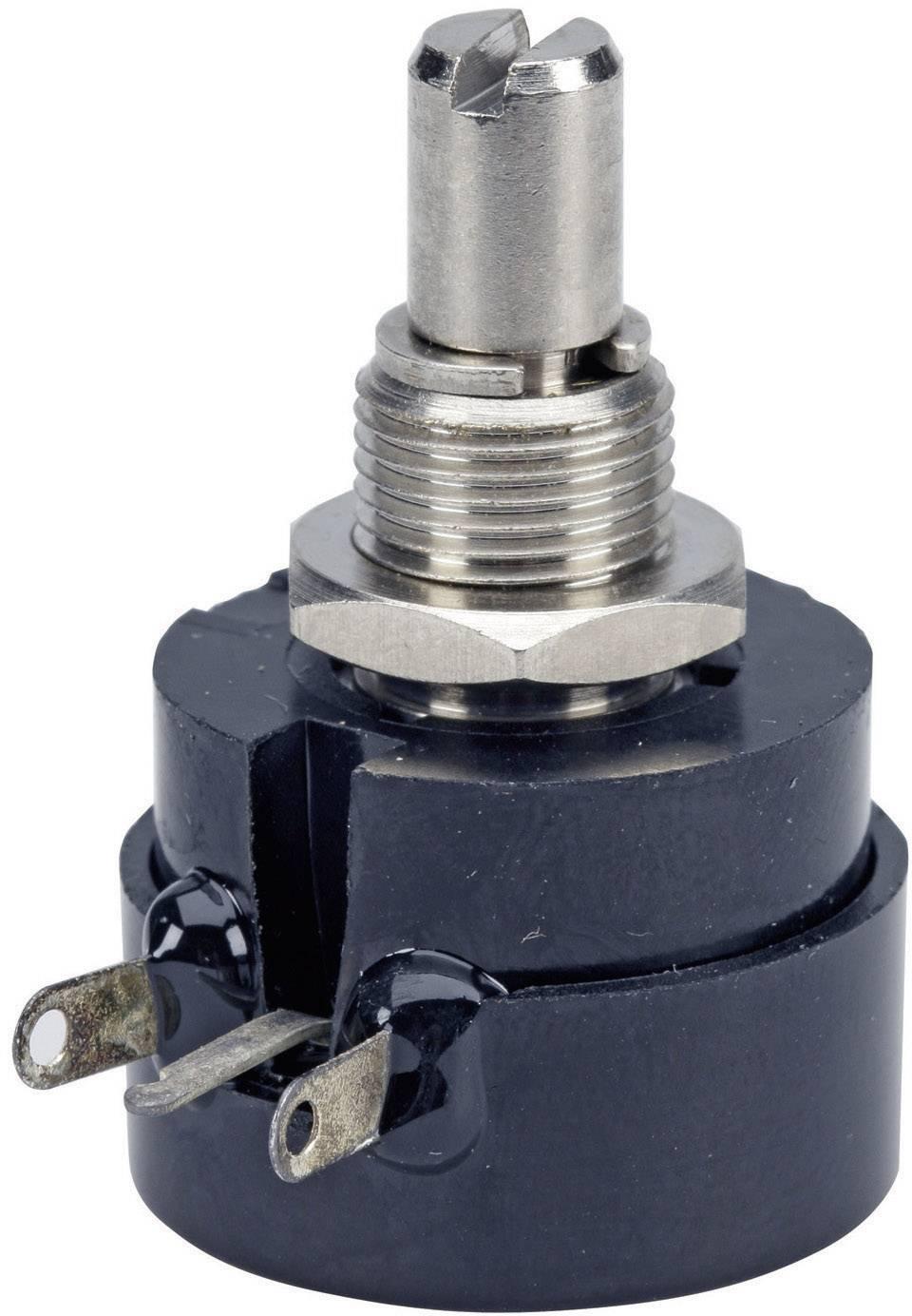 Drôtový potenciometer mono TT Electronics AB 3101106111 3101106111, 0.5 W, 100 Ohm, 1 ks
