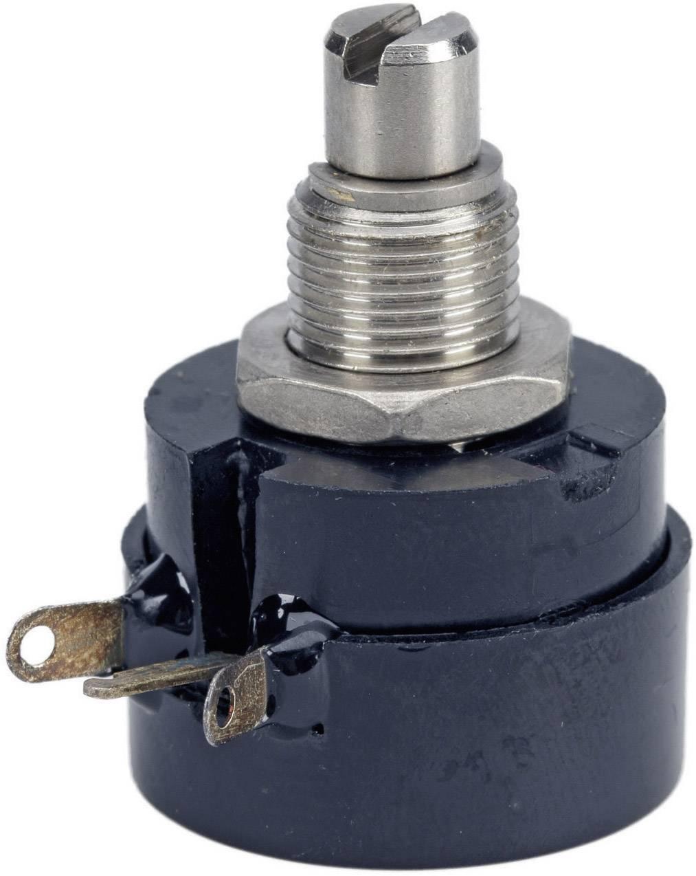 Drôtový potenciometer mono TT Electronics AB 3101106910 3101106910, 0.5 W, 100 Ohm, 1 ks