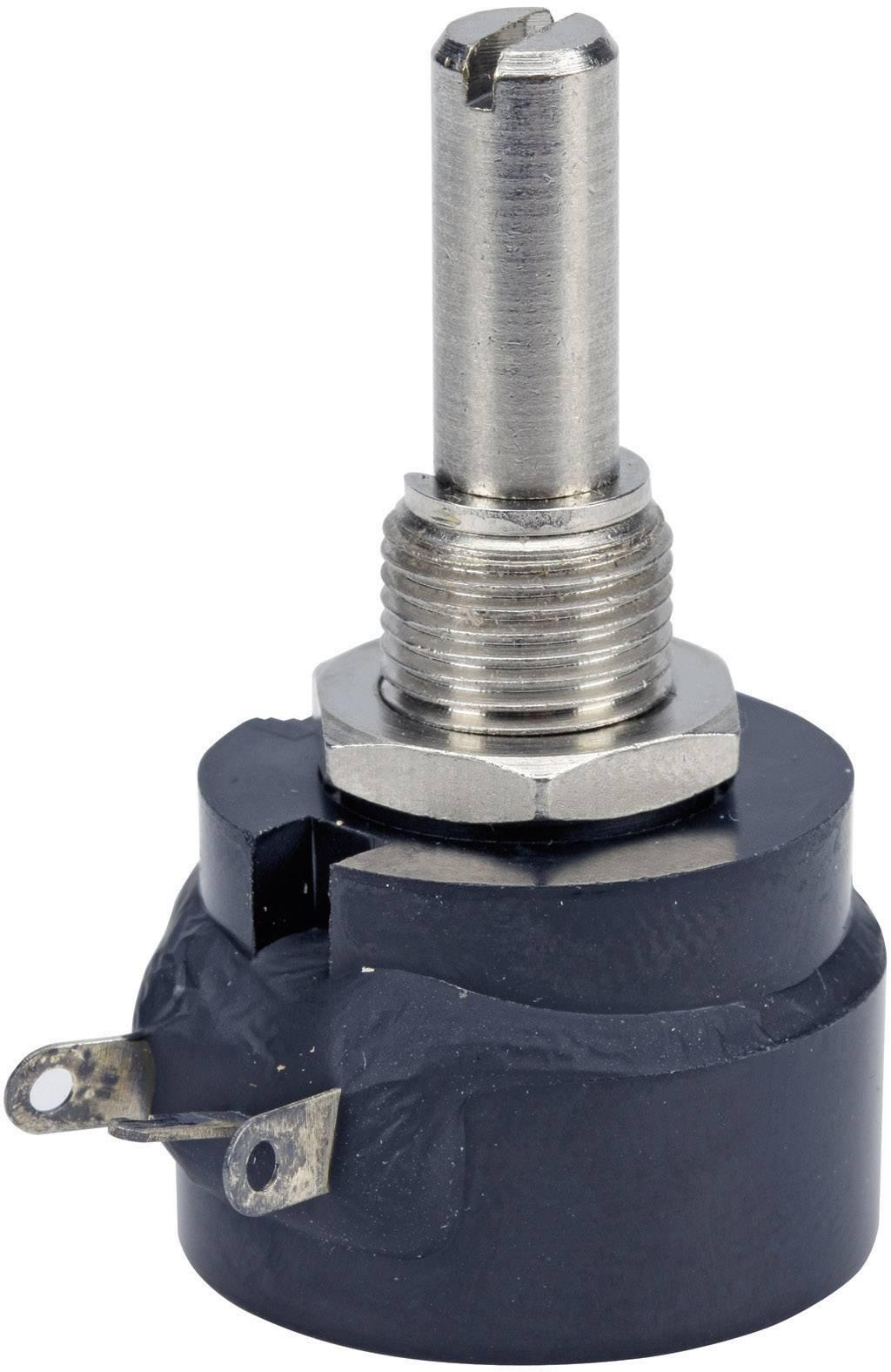 Drôtový potenciometer mono TT Electronics AB 3101206110 3101206110, 0.5 W, 100 Ohm, 1 ks