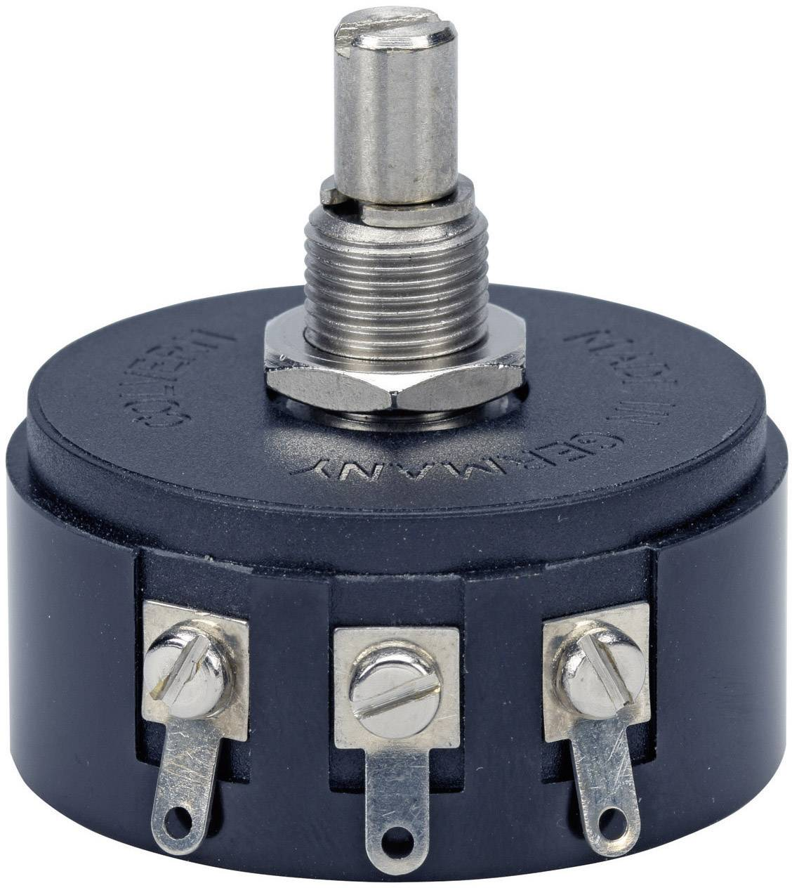 Drôtový potenciometer mono TT Electronics AB 3104001105 3104001105, 3 W, 50 Ohm, 1 ks