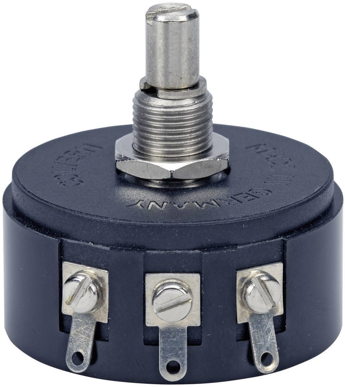 Drôtový potenciometer mono TT Electronics AB 3104001180 3104001180, 3 W, 25 kOhm, 1 ks