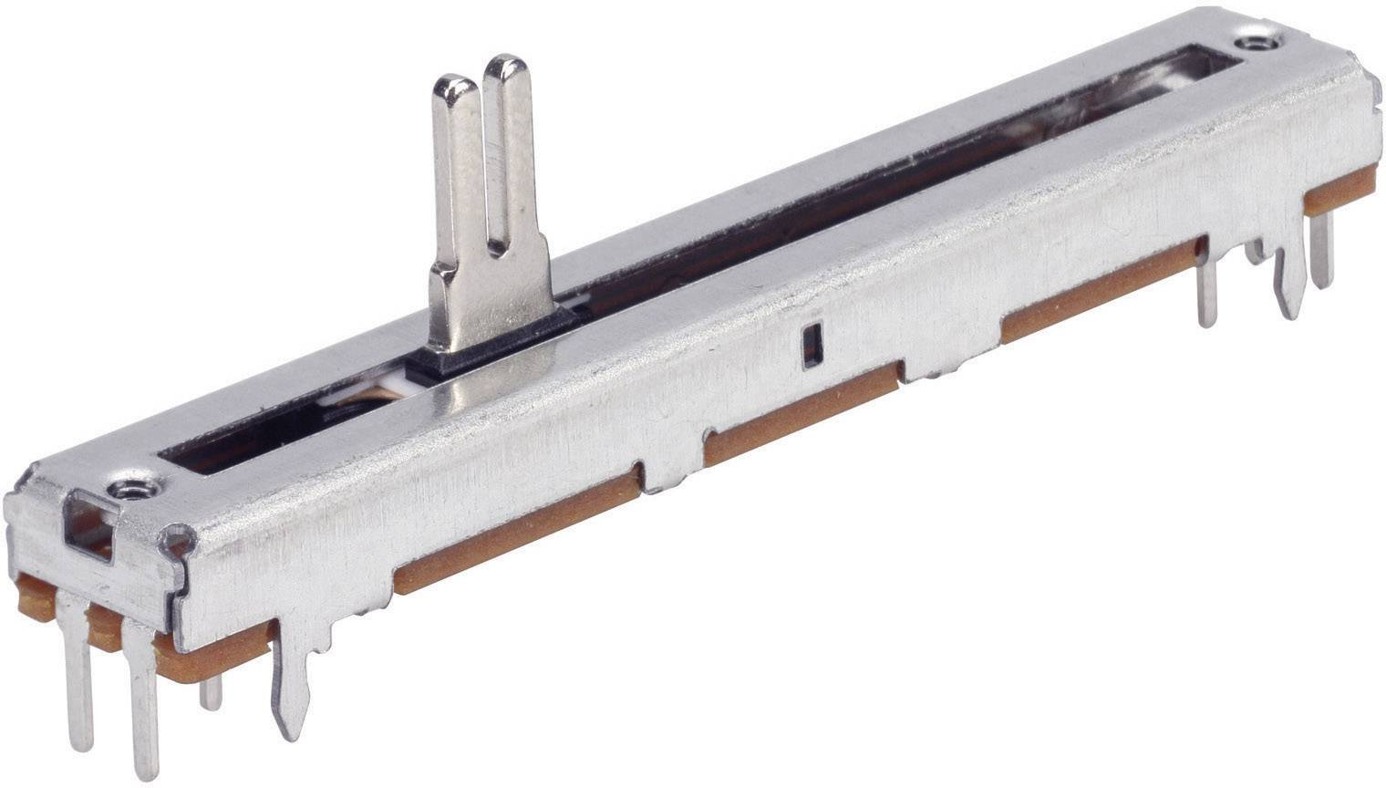 Potenciometr posuvný TT Electro, 4111206390, 500 kΩ, 0,25 W