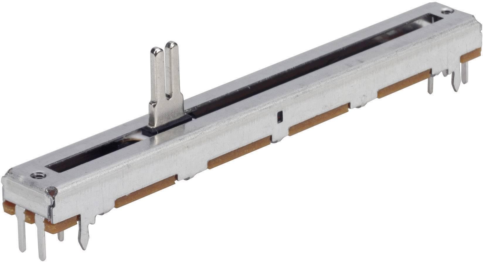 Potenciometr posuvný TT Electro, 4111306390, 500 kΩ, 0,2 W