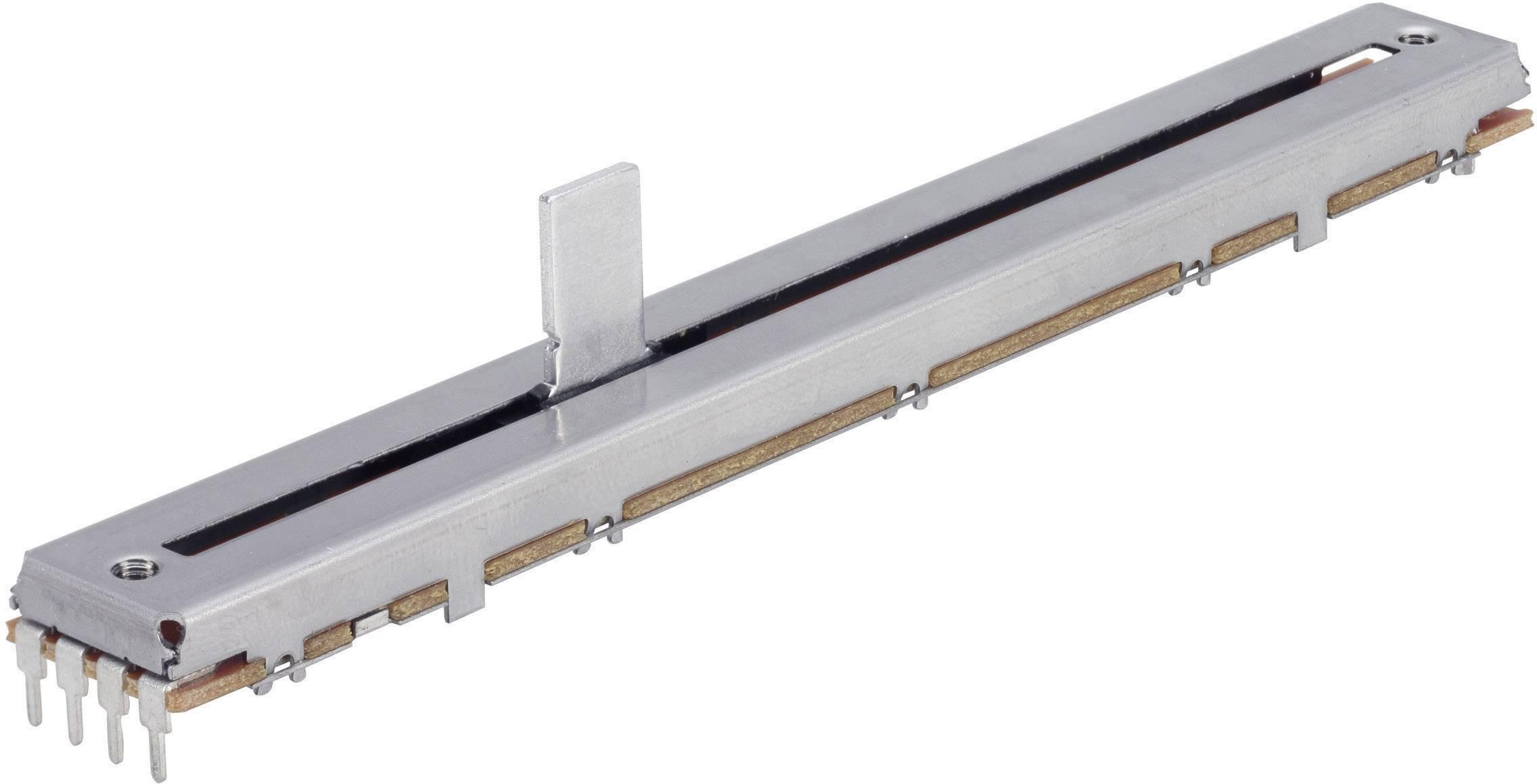Potenciometr posuvný TT Electro, 4111905315, 100 kΩ, 0,25 W