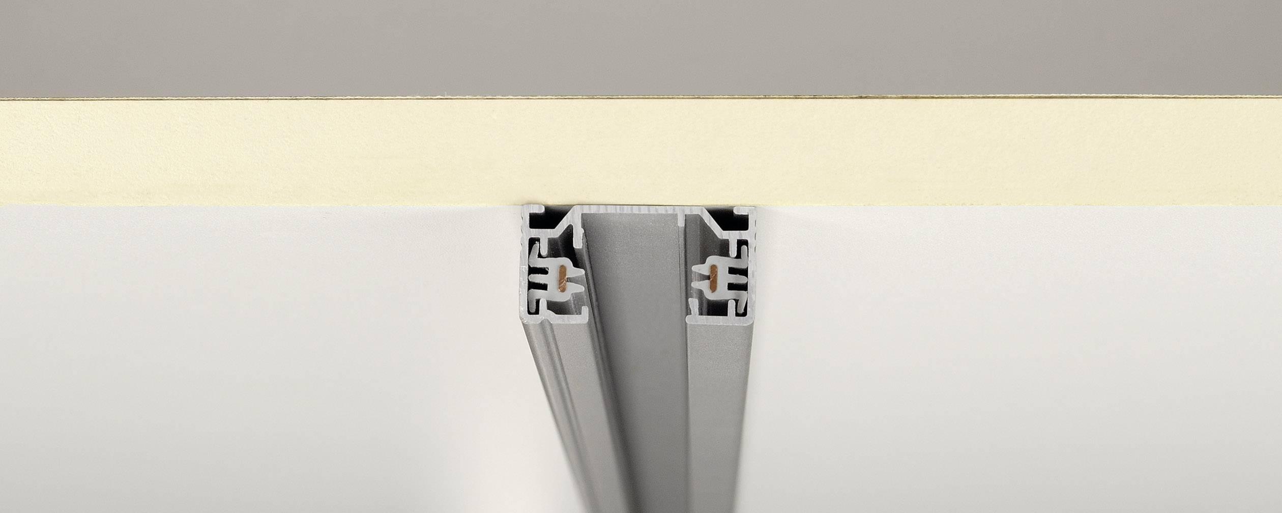 Vysokonapěťová kolejnice SLV, 143012, 1fázová, 230 V, 1 m, stříbrná