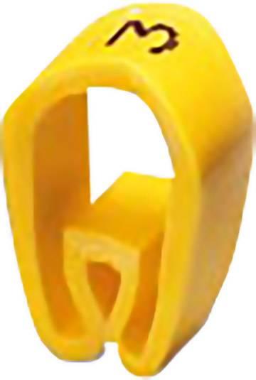 Označovacie objímka na káble Phoenix Contact PMH 0:ZAHLEN 3, žltá, 100 ks