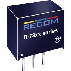 DC/DC měnič Recom R-783.3-1.0, výstup 3,3 V/DC / 1 A, vstup 4,75 - 18 V/DC, SIP 3