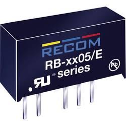 DC/DC měnič Recom RB-0505S/E (10016205), vstup 5 V/DC, výstup 5 V/DC, 200 mA, 1 W