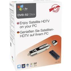 DVB-S USB TV tuner PCTV Systems PCTV DVB-S2 Stick 461E,s dálkovým ovládáním, funkce nahrávání, počet tunerů 1