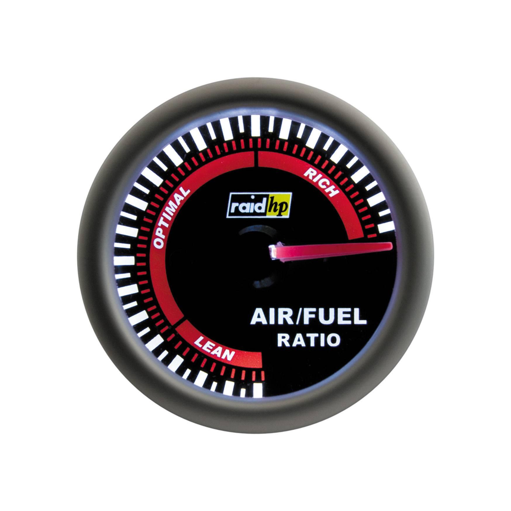 Palubný ukazovateľ pomeru vzduch/palivo Raid Hp NightFlight, 660410