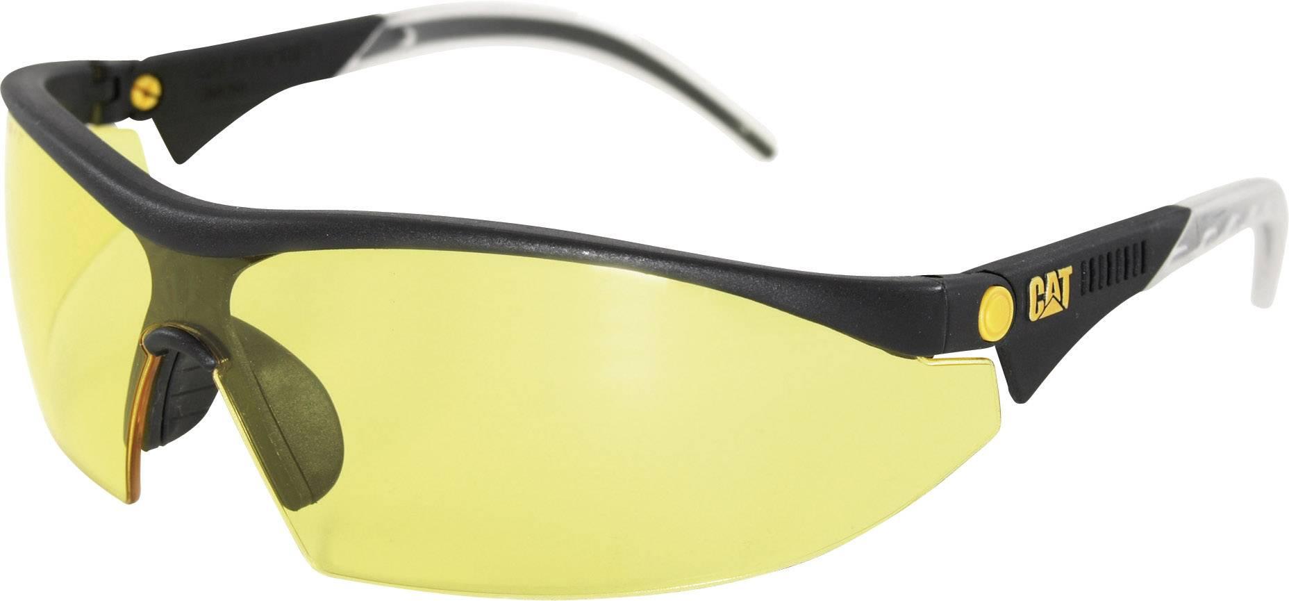 Ochranné brýle CAT Digger 112, žlutá