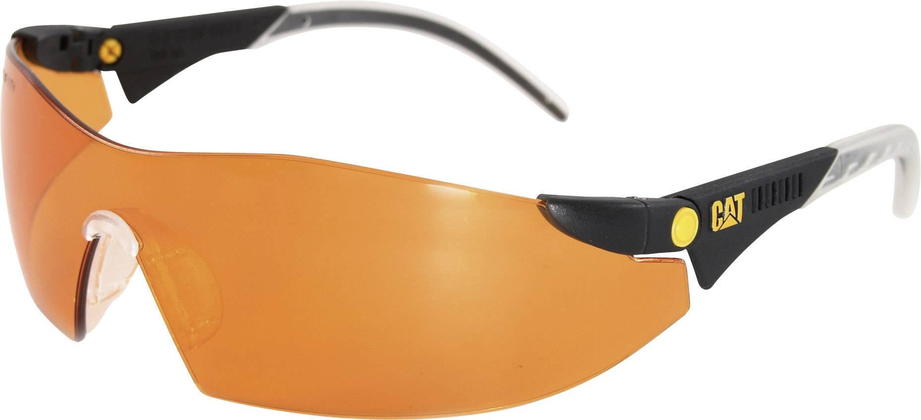 Ochranné brýle CAT Dozer, oranžová