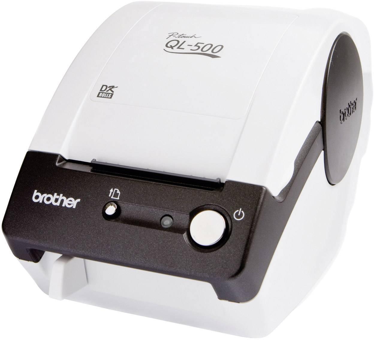USB tlačiareň etikiet Brother Ql-500BW