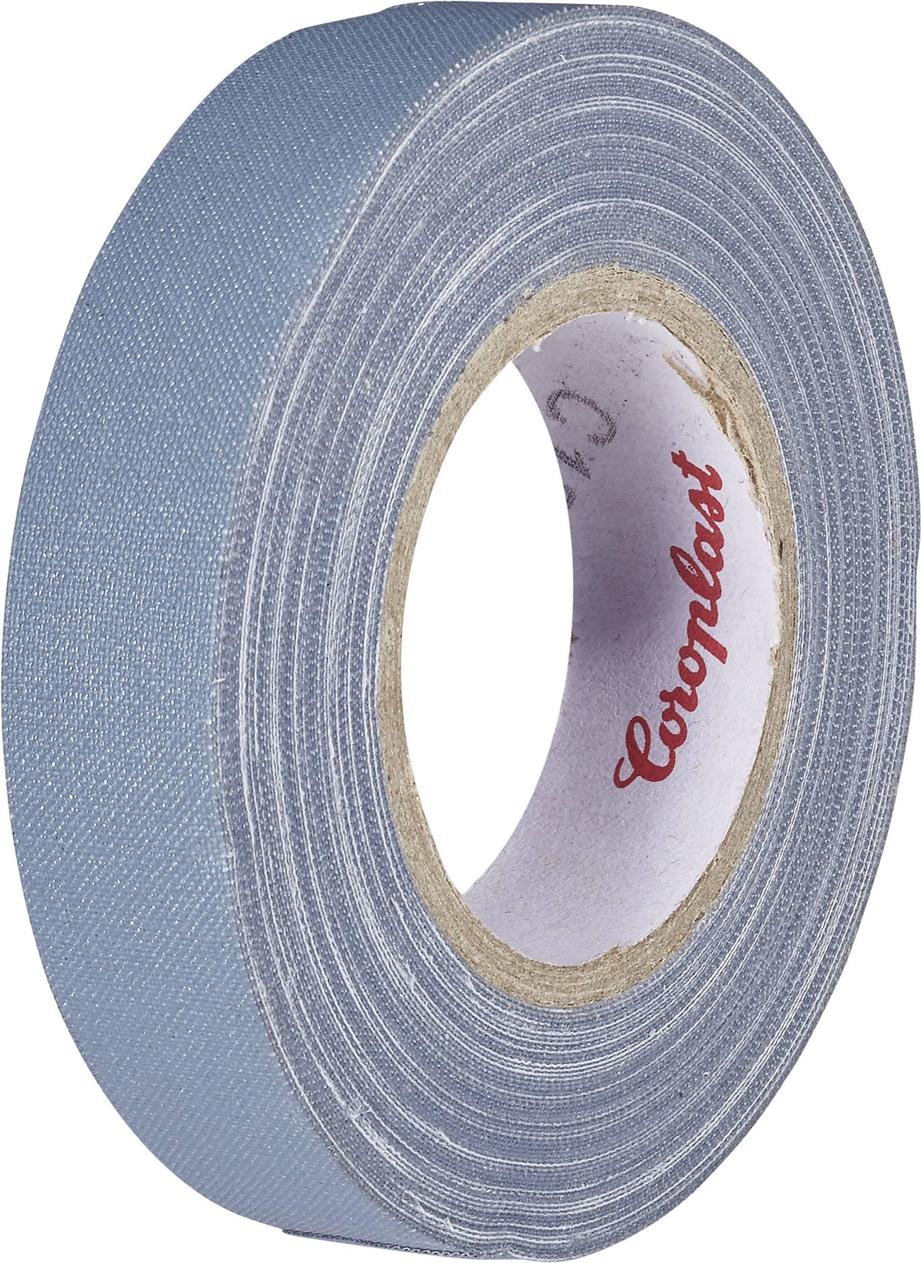 Páska so skleným vláknom Coroplast 80294 80294, (d x š) 10 m x 15 mm, sivá, 1 roliek