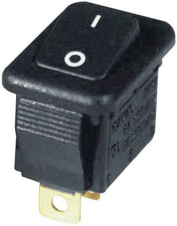 Kolískový spínač s aretáciou Eledis MR519-0F522, 250 V/AC, 3 A, 1x vyp/zap, 1 ks