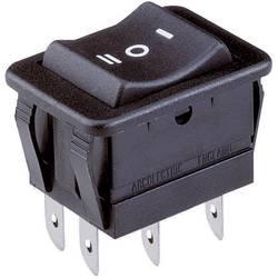 Kolískový spínač s aretáciou/0/s aretáciou Arcolectric H1570 VB AAA, 250 V/AC, 16 A, 2x zap/vyp/zap, 1 ks