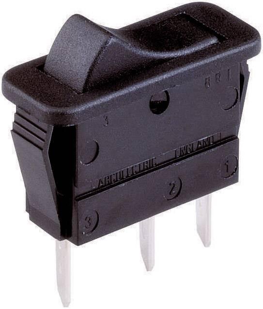 Kolískový spínač s aretáciou Arcolectric C1510 VB AAA, 250 V/AC, 16 A, 1 zap/zap, 1 ks