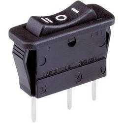 Kolískový spínač s aretáciou/0/s aretáciou Arcolectric C1520 VB AAB, 250 V/AC, 16 A, 1x zap/vyp/zap, 1 ks