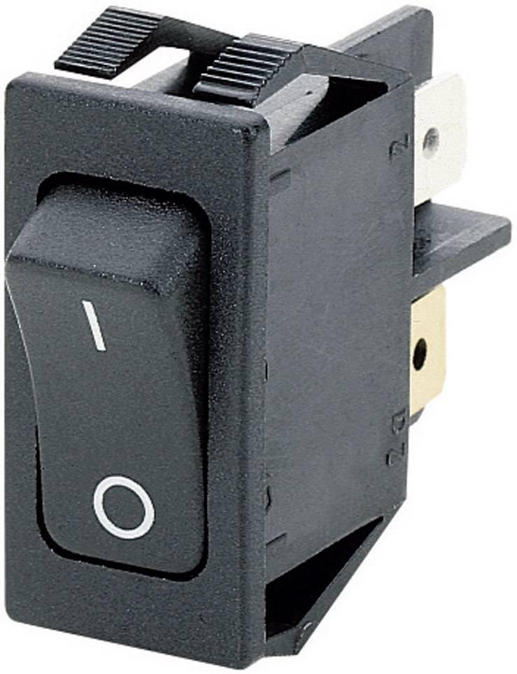 Kolískový spínač s aretáciou Marquardt 1551.3102, 250 V/AC, 16 A, 1x vyp/zap, IP40, 1 ks