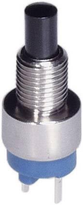 Tlačidlo APEM 9633NCD, 30 V/DC, 0.1 A, kov, 1 ks