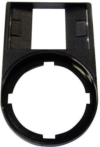 Držiak štítkov (d x š) 50 mm x 30 mm Eaton M22S-ST-X 216392, čierna, 1 ks