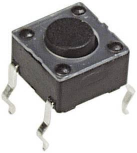 Mikrotlačítko do DPS Apem, PHAP3301B, 12 V/DC, 0,05 A, vyp./(zap.)