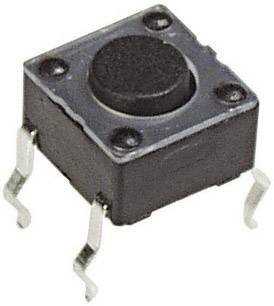 Tlačidlo APEM PHAP3301B, 12 V/DC, 0.05 A, 1 ks