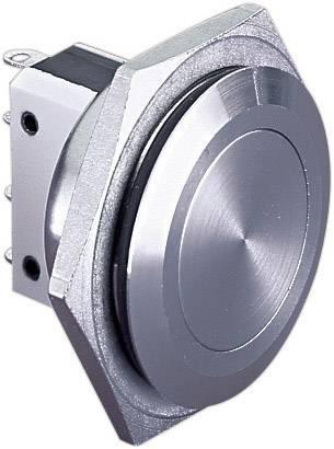 Stláčacie tlačidlo s ochranou pred vandalmi Bulgin MP0038, 250 V/AC, 5 A, nerezová oceľ, 1 ks