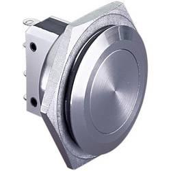 Tlačítko antivandal Bulgin MP0038, 250 V/AC, 5 A, nerezová ocel, 1 ks