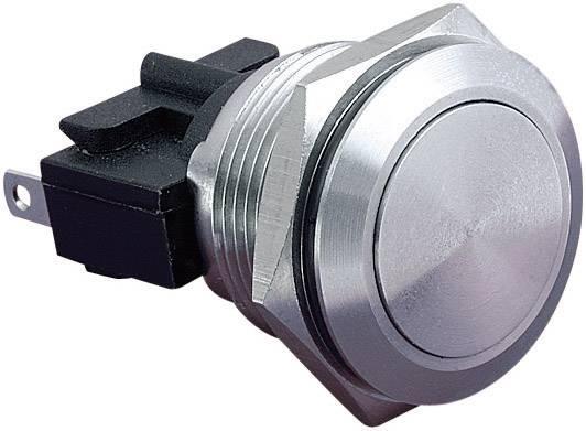 Tlačítko antivandal Bulgin MP0031, 250 V/AC, 5 A, nerezová ocel, 1 ks