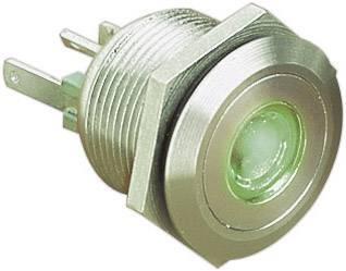 Stláčacie tlačidlo s ochranou pred vandalmi Bulgin MPI001/28/BL, 24 V/DC, 0.05 A, nerezová oceľ, 1 ks