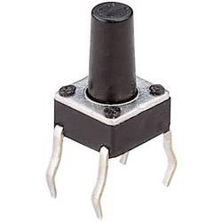 Tlačidlo T604, 24 V/DC, 0.05 A, čierna, 1 ks